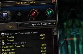 Patch 4.1: Blizzard unveils dungeon finder Call to Arms