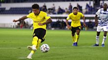 Sancho and Bellingham on target as Dortmund cruise to DFB-Pokal victory
