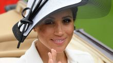 Meghan Markle Attends Her First Royal Ascot