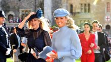 Robbie Williams, Demi Moore and Cara Delevingne among celebrity guests at Eugenie's royal wedding