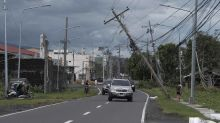 UN says 13 people reportedly killed in Philippines typhoon