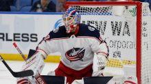 NHL goalies scrambling to regain groove after 4-month break