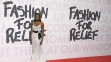 Duelo de supermodelos en el desfile benéfico de Naomi Campbell