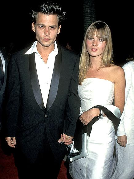 johnny depp inside his volatile 1990s romance with kate moss. Black Bedroom Furniture Sets. Home Design Ideas