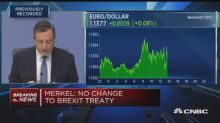 ECB's Draghi: Global uncertainties remain prominent