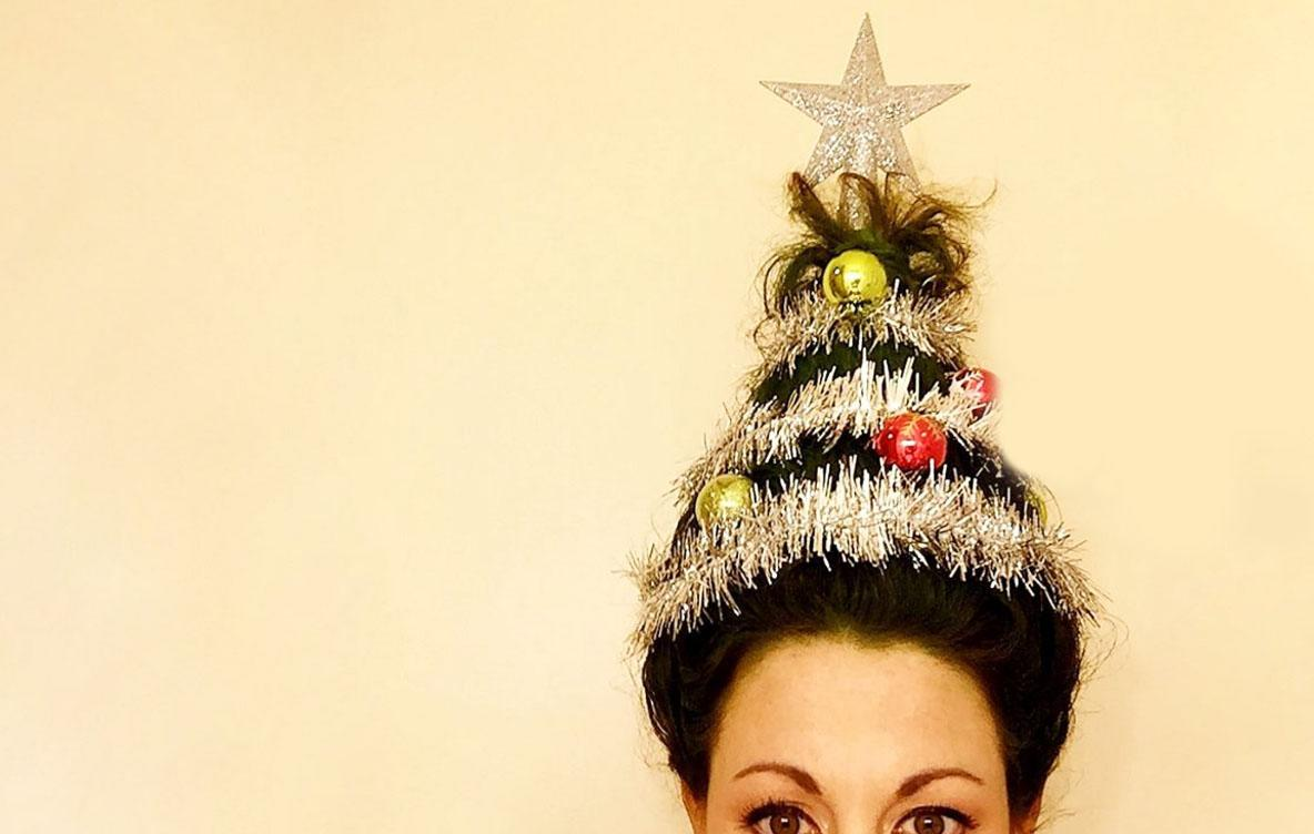 Christmas Tree Hair Is The Wackiest Christmas Beauty Trend Yet
