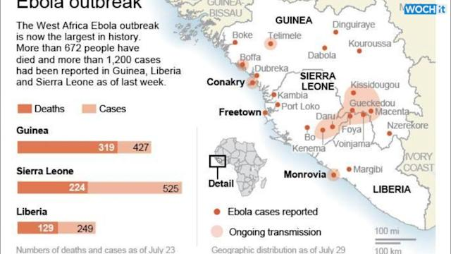 2 Ebola-infected Americans Evacuated To U.S.