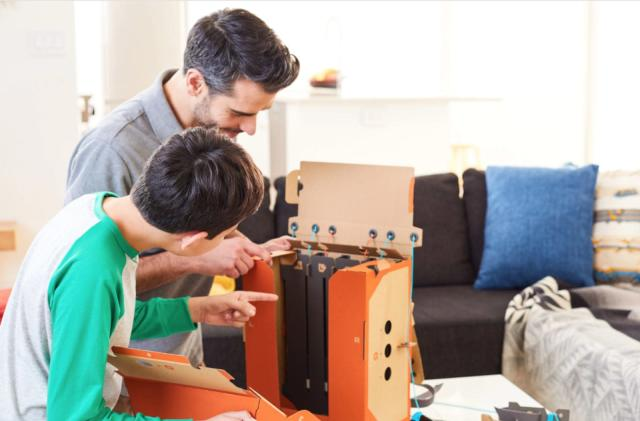 Nintendo knows you will destroy Labo's cardboard