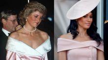 19 Times Meghan Markle Dressed Just Like Princess Diana