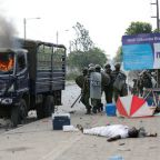 Two killed as Kenyan police disperse supporters cheering opposition leader