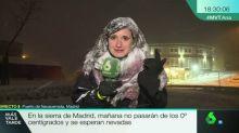 Gajes del oficio: Una reportera tiembla de frío y un colaborador se queda atrapado en Ámsterdam a causa del frente frío