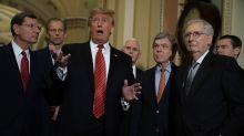 GOP senators tiptoe around Trump as the party faces growing political dangers ahead of Nov. 3