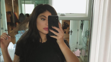 Is it safe for Kylie Jenner to be using a waist trainer so soon after giving birth?