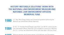 Motorola Solutions and the Motorola Solutions Foundation Provide $18M to the National Law Enforcement Museum