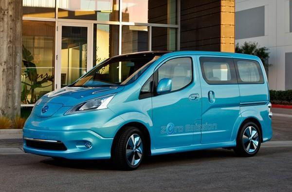 Nissan announces e-NV200 all-electric van, production slated for 2013