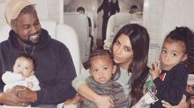 Kim Kardashian just shared a new family photo — and she didn't cry this time