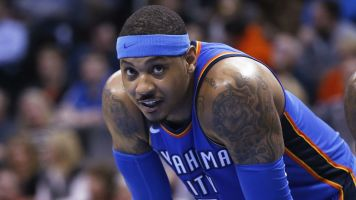 Carmelo on signing with OKC: 'You mad, huh?'