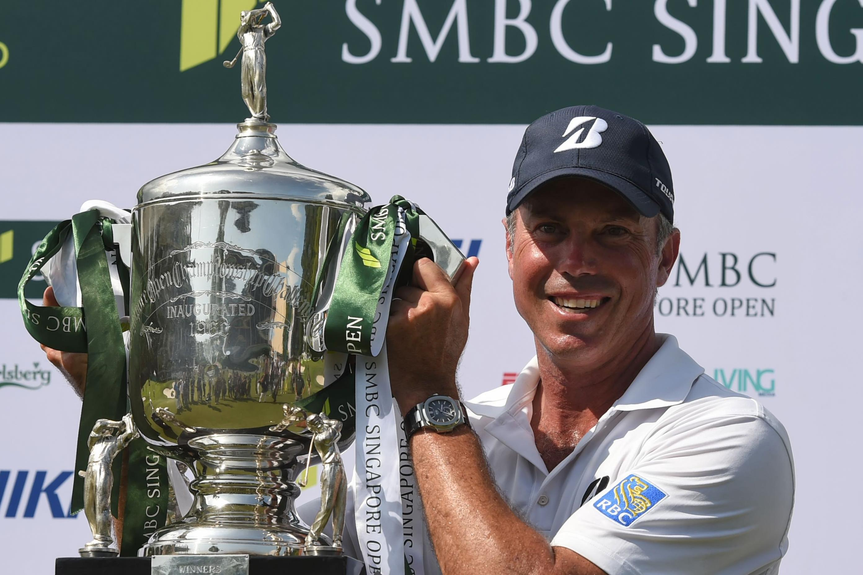 Kuchar steadies ship after horror hole to clinch Singapore Open