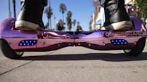The New York Times - Hoverboarding at Venice Beach