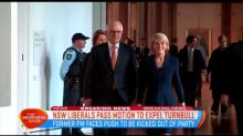 Malcolm Turnbull faces motion demanding his expulsion from the Liberal Party