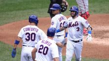Tomas Nido hits two home runs, drives in six to propel Mets to victory