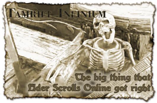Tamriel Infinium: The big thing that Elder Scrolls Online got right