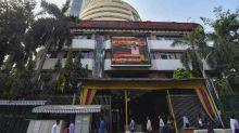 Sensex Slumps 416 Points  As Heavyweights Decline