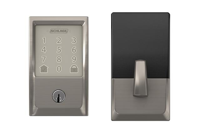 Schlage's WiFi deadbolt lock can open the door for Amazon couriers