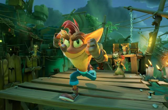 Toys for Bob details 'Crash Bandicoot 4' upgrades for the PS5