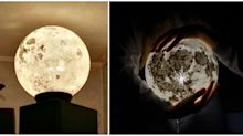 These Amazing Lamps Bring a Full Moon Into Your Bedroom Every Night
