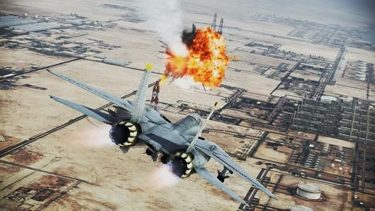 Ace Combat Infinity boarding PS3s on May 27