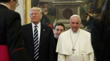 Gifts Trump and Pope Francis exchanged, including the pontiff's letter on the environment