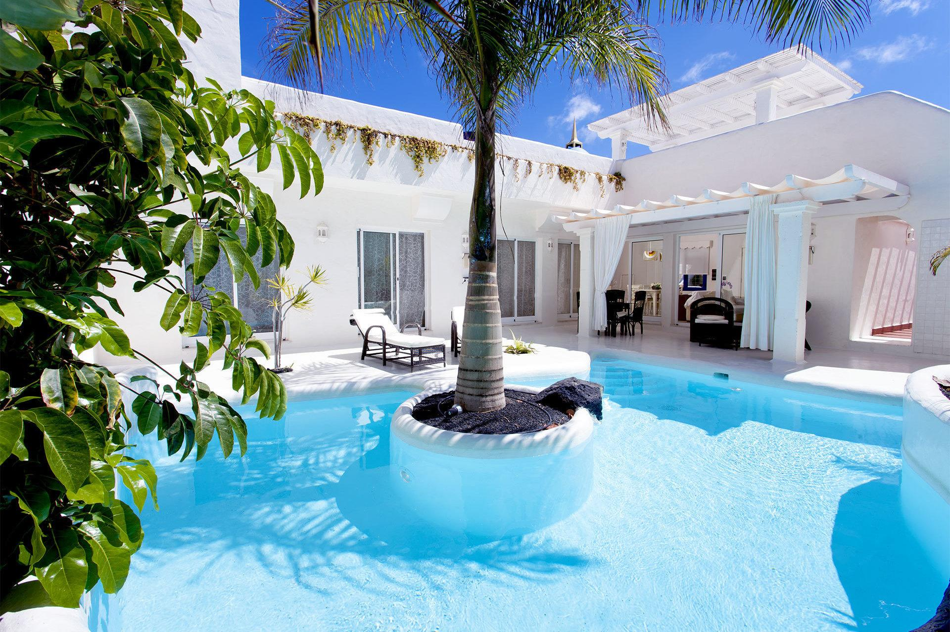 """<p>Bahiazuloffers all the amenities of a large hotel, but you stay in your own villa, each with a private pool and Jacuzzi and a roof terrace with BBQ. Each villa offers three ensuitebedrooms and inbuilt music systems. Visit<a href=""""https://bahiazul.com/en"""" target=""""_blank"""">bahiazul.com</a>for more.</p>"""