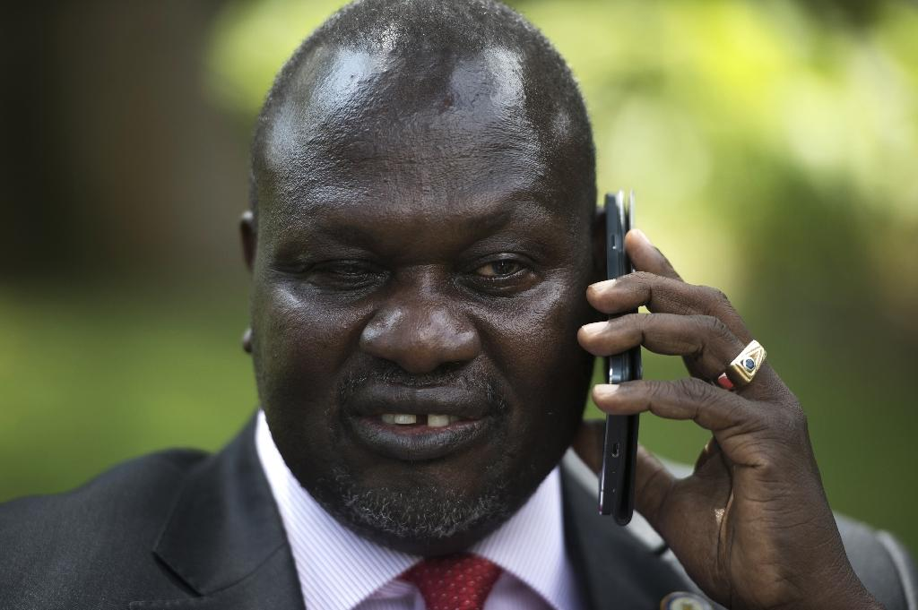 South Sudan former Vice President and South Sudanese rebel leader Riek Machar (AFP Photo/Ali Ngethi)