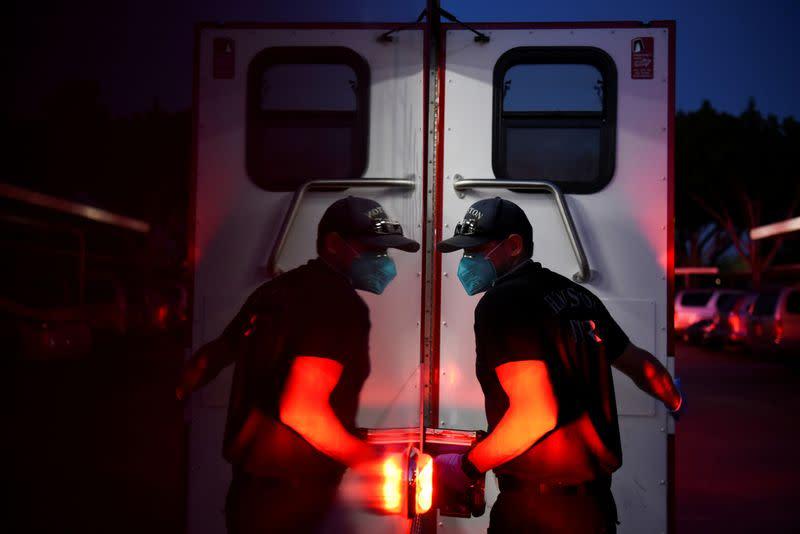 U.S. faces a smoldering COVID-19 pandemic nationwide as flu season starts