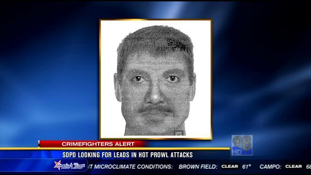 SDPD looking for leads in Golden Hill hot prowl attacks