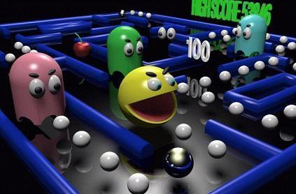 Pac-Man is out, boyeeee!