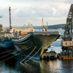 One dead in fire on Russia's sole aircraft carrier