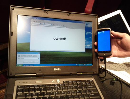 Hackers disguise phone as keyboard, use it to attack PCs via USB