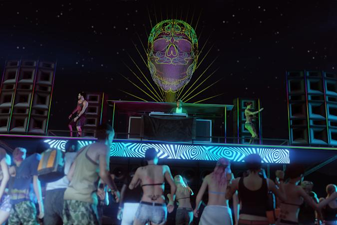 'GTA V' After Hours expansion with dance in a nightclub