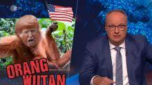 """""""heute-show"""": Oliver Welke traut sich nur einen Corona-Witz über Trump"""