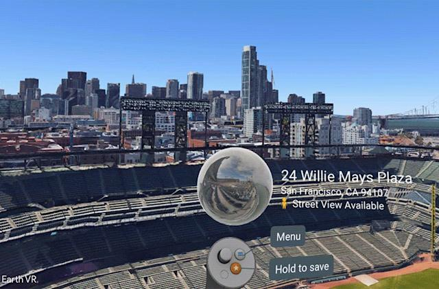 Google Earth VR gets new Street View images