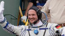 Weltraum-Grüße: Alexander Gerst postet beeindruckendes Foto aus dem All