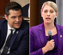 Former Rep. Katie Hill says it's 'gross' to think that Matt Gaetz defended her to possibly cover up for 'his own indiscretions'