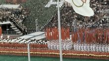 Cold War rivalries split the Olympics in Moscow in 1980