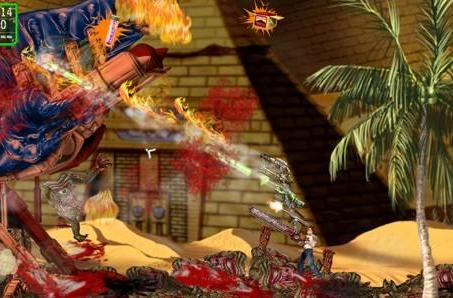 Seriously wild Serious Sam: Double D screens, Gun Stacking details