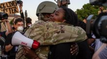 More images of hope amid peaceful protests