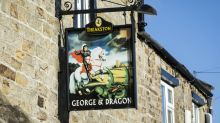 Country pub rescued by customers named best in UK