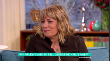 Fay Ripley sold George Michael's used towel for cash as a struggling actor