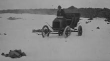 Footage shows intrepid motorists scaling Ben Nevis in 1911
